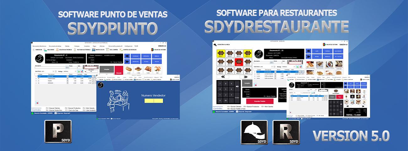 ¡¡PRONTO!! SDYDPUNTO | SDYDRESTAURANTE Nueva Versión 5.0