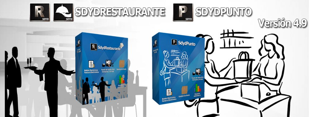 SDYDPUNTO | SDYDRESTAURANTE Nuevas Actualizaciones Versión 4.9